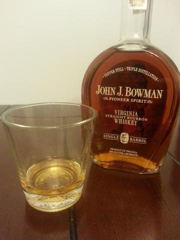 Review: John J. Bowman Bourbon Whiskey