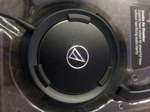 Solid Bass over-ear headphones ATH-WS55iBK from Audio-Technica