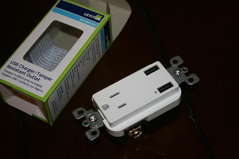 Leviton USB Power Outlets