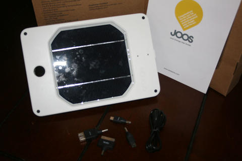 JOOS Orange Solar Charger