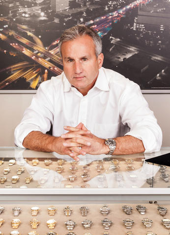 Paul Altieri, the founder of Bobs Watches