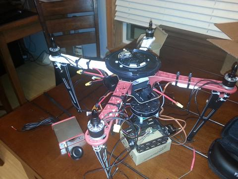 Building your own quadcopter - The Assembly