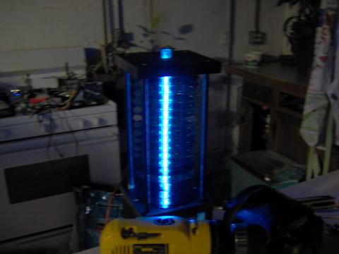 DIY Cold Cathode CD Lamp