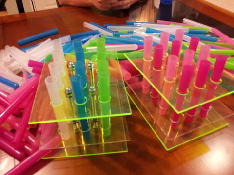 Want to win a custom test tube shot rack?