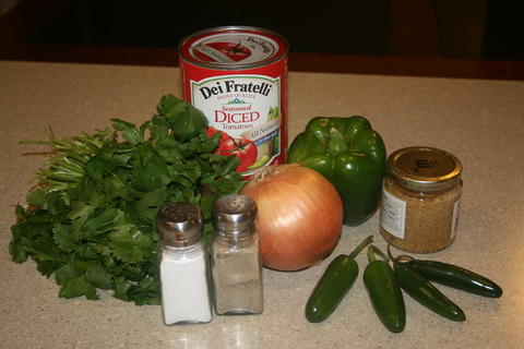 Quick and eascy salsa Recipe