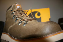 Carhartt Suede Wedge Boot