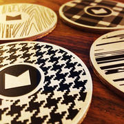 MetalPress Drink Coasters