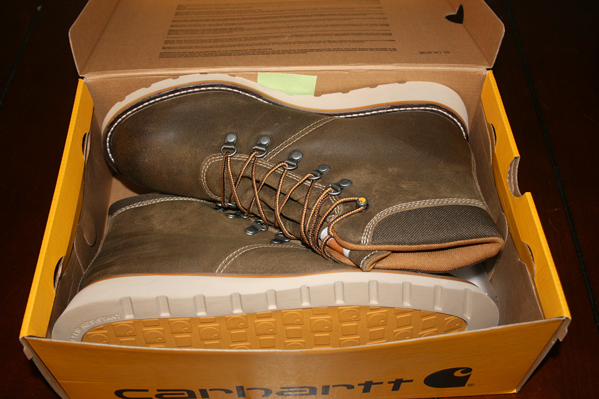Carhartt Suede Wedge Boots Brobility