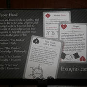 Exuvius Upper Hand Playing Cards